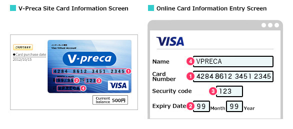 V preca use v preca internet only visa prepaid card for Name of online shopping websites